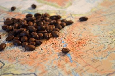 Kaffeebohnen aus Ethiopien